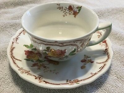 Royal Doulton  Bone China  Cup And Saucer England    Chiltern Pattern