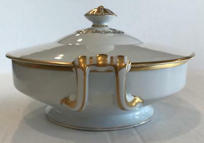 VTG Noritake PATRICIA Gold Round Cover Vegetable Occupied Japan Casserole CHina