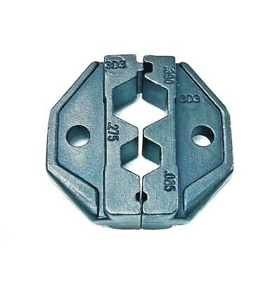 Ratchet Crimp Tool Die HT-2F1 Non-insulated Flag Terminal DIN 0.5-1.0//1.5-2.5mm2