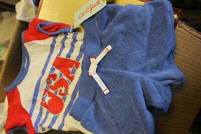 Boys Cat & Jack Outfit 2 Pc Summer Set Shirt And Shorts Size 4T Usa
