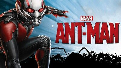 Marvel: Ant-Man (DVD-2015,1-Disc) Region 2.*****ACTION PACKED ADVENTURE!!*****