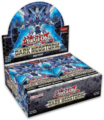 YuGiOh English Dark Neostorm DANE 1st Edition Booster Box SEALED & IN HAND!!