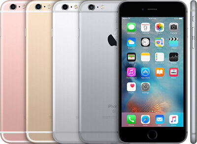 iPhone 6s 16GB 32GB 64GB 128GB Factory Unlocked Gold Gray Rose Gold Silver