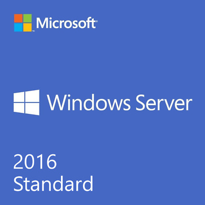 Window Server 2016 Standard 64 bit full version