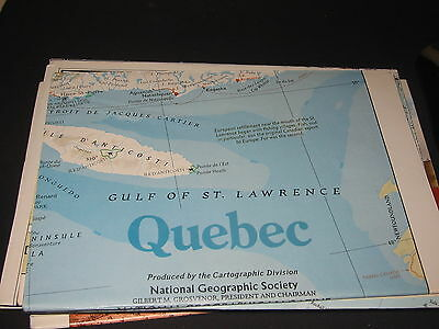 National Geo map Quebec March 1991 edition (271)