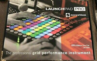 Novation Launchpad Pro USB Midi Controller for Ableton with 64 Velocity Pads