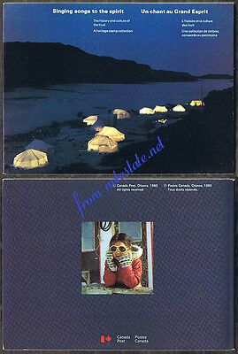 1980 SINGING SONGS TO THE SPIRIT Canada Thematic Collection 15 with MNH stamps