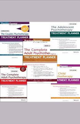 The Complete Adult Psychotherapy Treatment Planner (PDF)(5 ebooks)