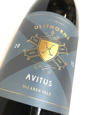 Ulithorne Avitus Shiraz 2015 Red Wine, McLaren Vale 1 X 750ml