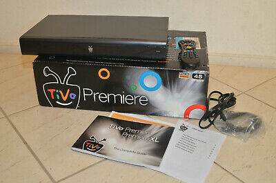 TiVo Premiere Series4 Receiver 45 Hours Recording Model TCD746320
