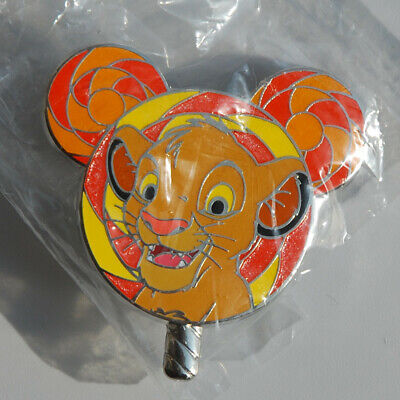 Disney Pin Hong Kong HKDL 2017 Lollipop Mystery Tin Simba Disneyland Rare New