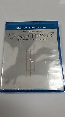 Game of Thrones the complete third season Blu-ray + digital