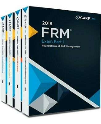 GARP FRM Financial Risk Manager 2019 Part 1 & Part 2 Study Material Complete Set