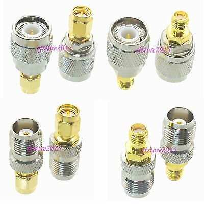 10pcs Adapter Connector TNC to SMA for Antenna Router