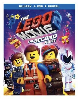The LEGO Movie 2 The Second Part BLU-RAY DISC ONLY! Ships Release Day Or Sooner
