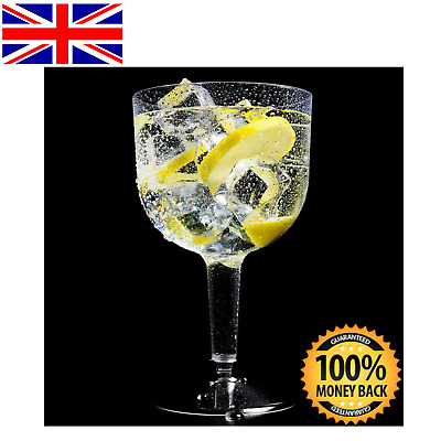 20x Large Plastic Gin Glasses 745ML Cocktail Glass Wine Mixer Disposable Picnic