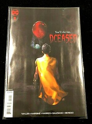 DCEASED Issue 1 DC Comics IT Movie Variant Cover - Bagged & Boarded Mint  NEW!
