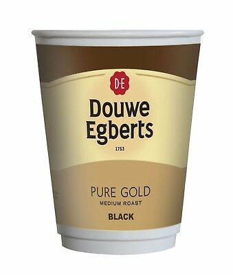 Douwe Egberts Black Coffee Drink To Go 12Oz Fresh Seal Incup / In Cup X 150 2Go
