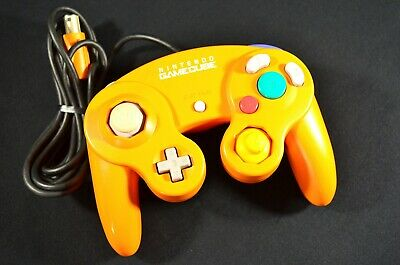 Official Nintendo GameCube Controller - Original Spice Orange - DOL-003 - Tested