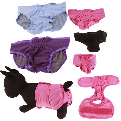 Reusable Dog Diapers Band Strap Soft Pants Underwear Pet Sanitary Nappy Trendy