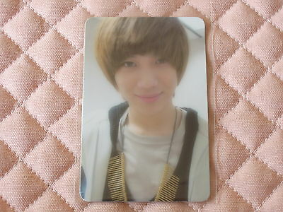 (ver. Taemin) SHINee 2nd Album Lucifer Photocard K-POP Official Trading Card