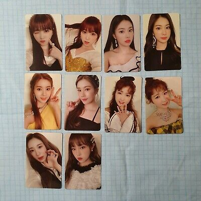IZ*ONE/IZONE COLOR*IZ MINJU/MINJOO Photocard - $12 00 | PicClick