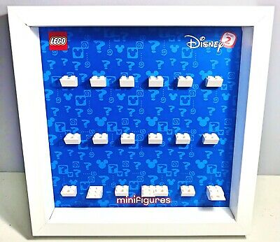 Cornice Vetrina Display Case Lego 71024 Minifigures DISNEY Serie 2