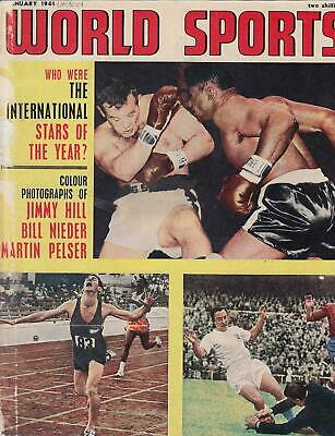 Official Report of The Olympic Games 1960. World Sports, The Official Magazine o