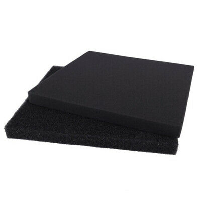 2/4cm Universal Activated Carbon Air Filter Sponge Foam Sheet Filter Pad Supply