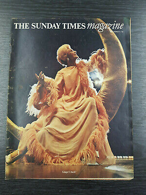 The Sunday Times Magazine: Ginger Rogers: December 22nd 1968