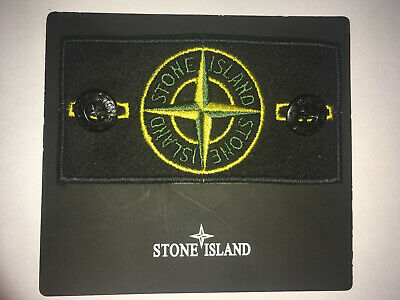 Stone Island Special Edition badge replacement with buttons