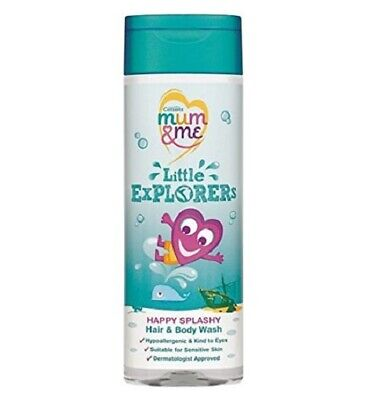 Cussons Mum & Me Little Explorers Hair & Body Wash 250ml Childrens Happy Splashy