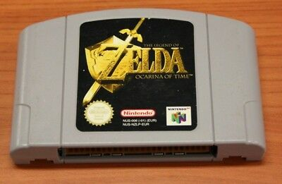JEU Nintendo 64 The Legend Of Zelda: Ocarina Of Time     EUR