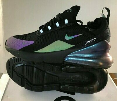 on feet at good looking lowest discount NIKE AIR MAX 270 black purple chameleon colour change Limted ...