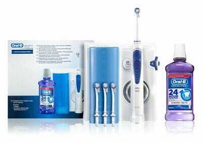 Braun Oral-B Oxyjet MD20 Munddusche mit Stron Teeth 500ml GRATIS