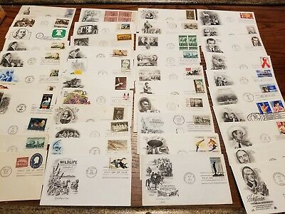 US STAMPS (5) 1950-1999 U.S. FIRST DAY COVERS - FDCs - 5 COVERS FROM LARGE LOT