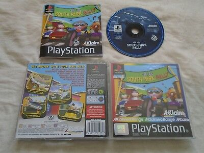 South Park Rally PS1 game COMPLETE WITH MANUAL Sony Playstation