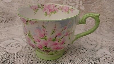 Vintage Royal Albert Blossom Time English Bone China Tea Cup Art Deco