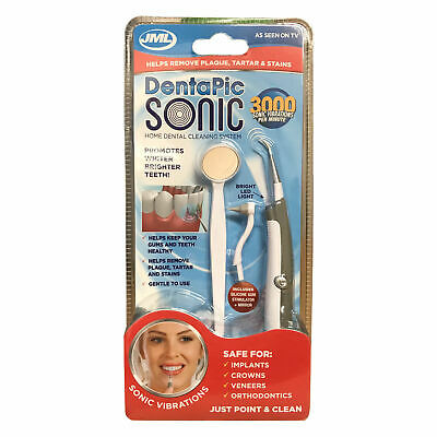 JML DentaPic Sonic Home Dental Cleaning System NEW & SEALED