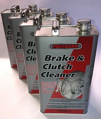Brake and Clutch Cleaner 5l, 10l, 20l POLYGARD 5, 10, 20 litres brake squeal