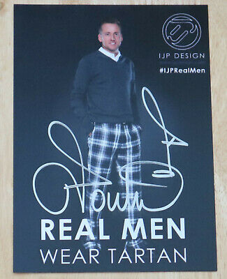 Ian Poulter Golf Personally Hand Signed Autograph Promo Photo