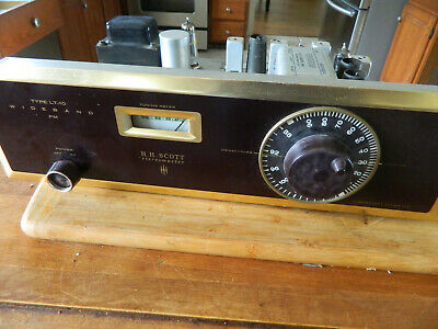 SCOTT LT-10 Stereomaster FM Tube Tuner Works and Sounds Great