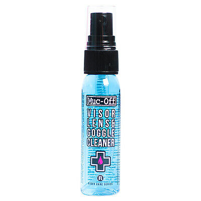 Muc-Off Helmet & Visor Cleaner 35ml Motorcycle Helmet Cleaner Goggles  M212