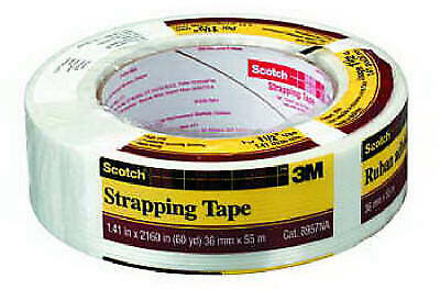 3M COMPANY 1-1/2 Inch x 60-Yard Strapping Tape 8957-1.5