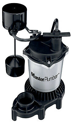 PENTAIR WATER Sump Pump, Zinc & Plastic Construction, .5-HP Motor, 4,200 GPH