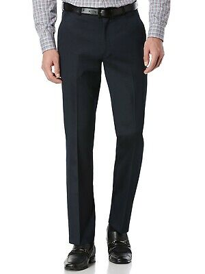 Perry Ellis Men's Portfolio Solid Slim Fit Stretch Dress Pants Travel LUXE Tech