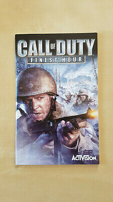 Call of Duty Finest Hour manual - PlayStation PS2