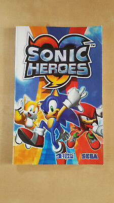 Sonic Heroes Manual - PlayStation 2 - PS2