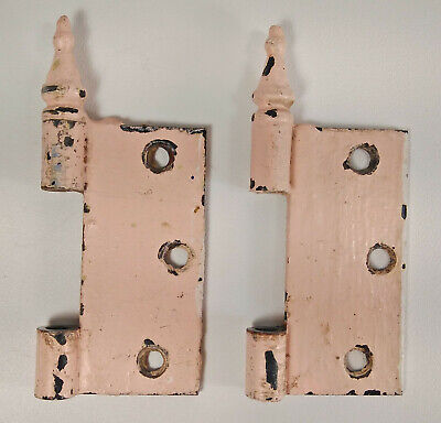 Door Hinge Parts Only Salvage Scrap Vintage