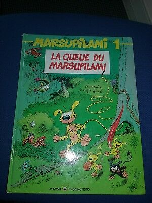 BD Marsupilami 1 - LA QUEUE DU MARSUPILAMI - Franquin Marcu Production 1991